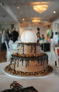 Wedding and Groom Cakes