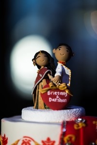 Indian Inspired WEdding Cake Topper